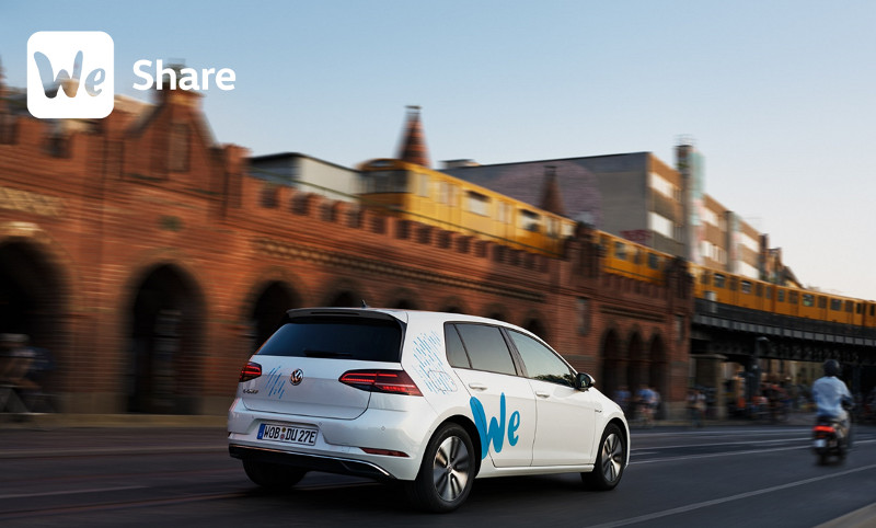 We Share – VW Carsharing App